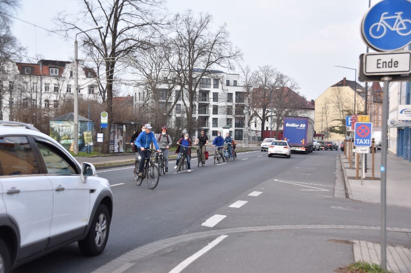 Auf der Leipziger Straße