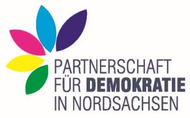 Logo der Partnerschaft für Demokratie Nordsachsen